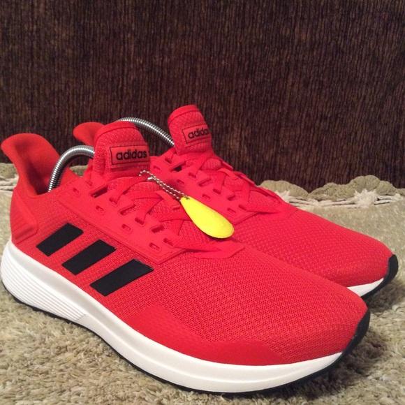 adidas Other - New Adidas Duramo 9 Red Black Men's Sz 12